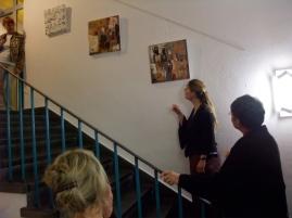 Kunstausstellung, Bibliothek der Stadt Kehl, Germany
