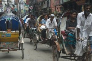 Navigating Traffic in Dhaka