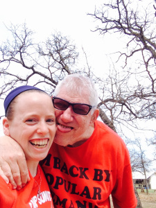 Freddy has been attending Camp Summit since he as a child and Hanna ihas worked for many years a sa nurse at the camp for those with special needs.