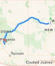 From NM to AZ